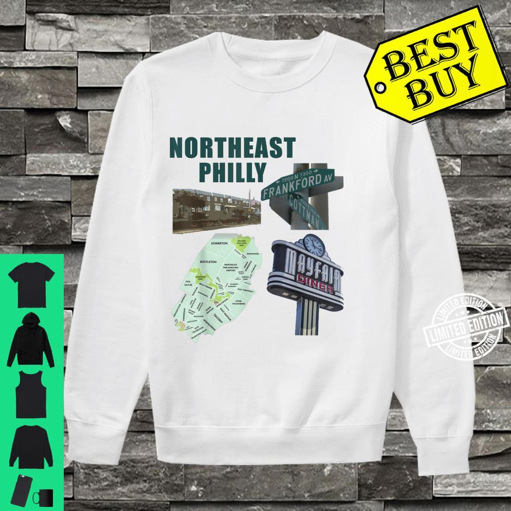 Northeast Philadelphia featuring philly mayfair diner NE Shirt sweater
