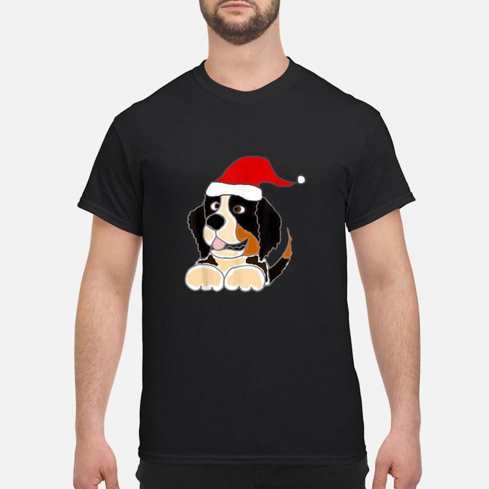 Smile Bernese Mountain Dog Christmas shirt