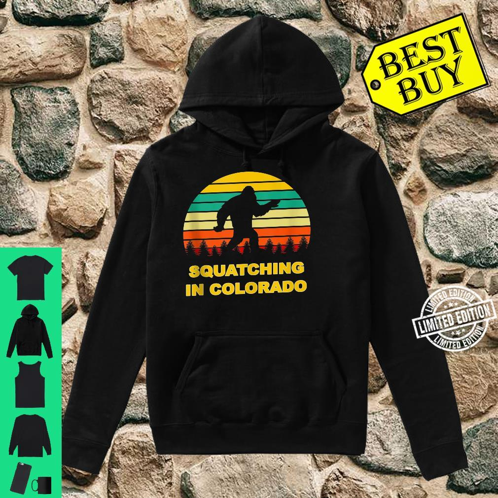 Squatching in Colorado Sasquatch Yeti Sightings Shirt hoodie