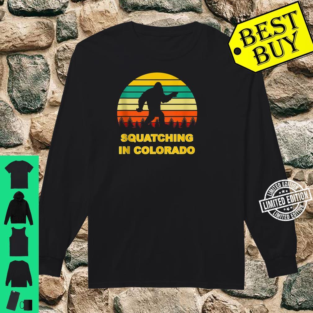 Squatching in Colorado Sasquatch Yeti Sightings Shirt long sleeved