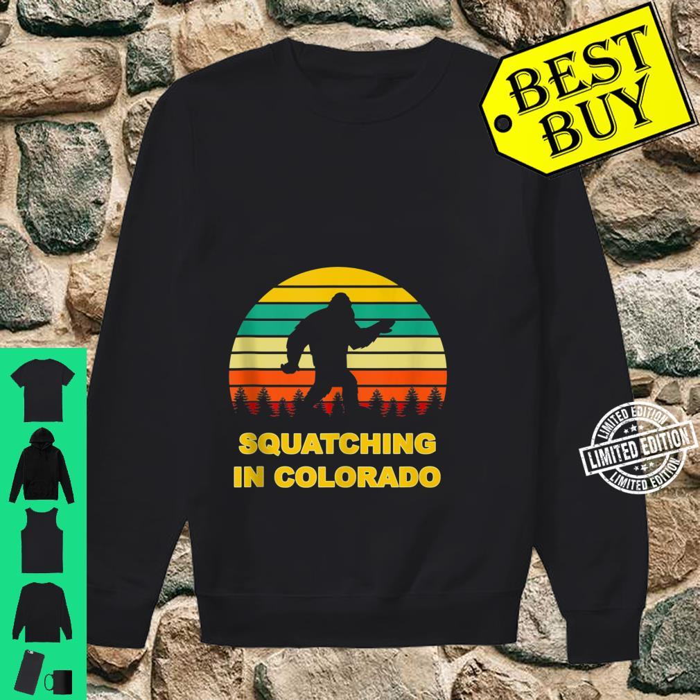 Squatching in Colorado Sasquatch Yeti Sightings Shirt sweater