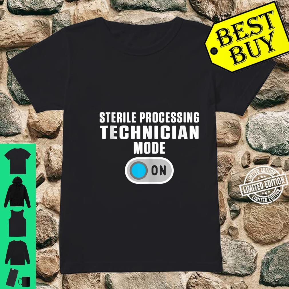 Sterile Processing Technician Instructing Tech Shirt ladies tee