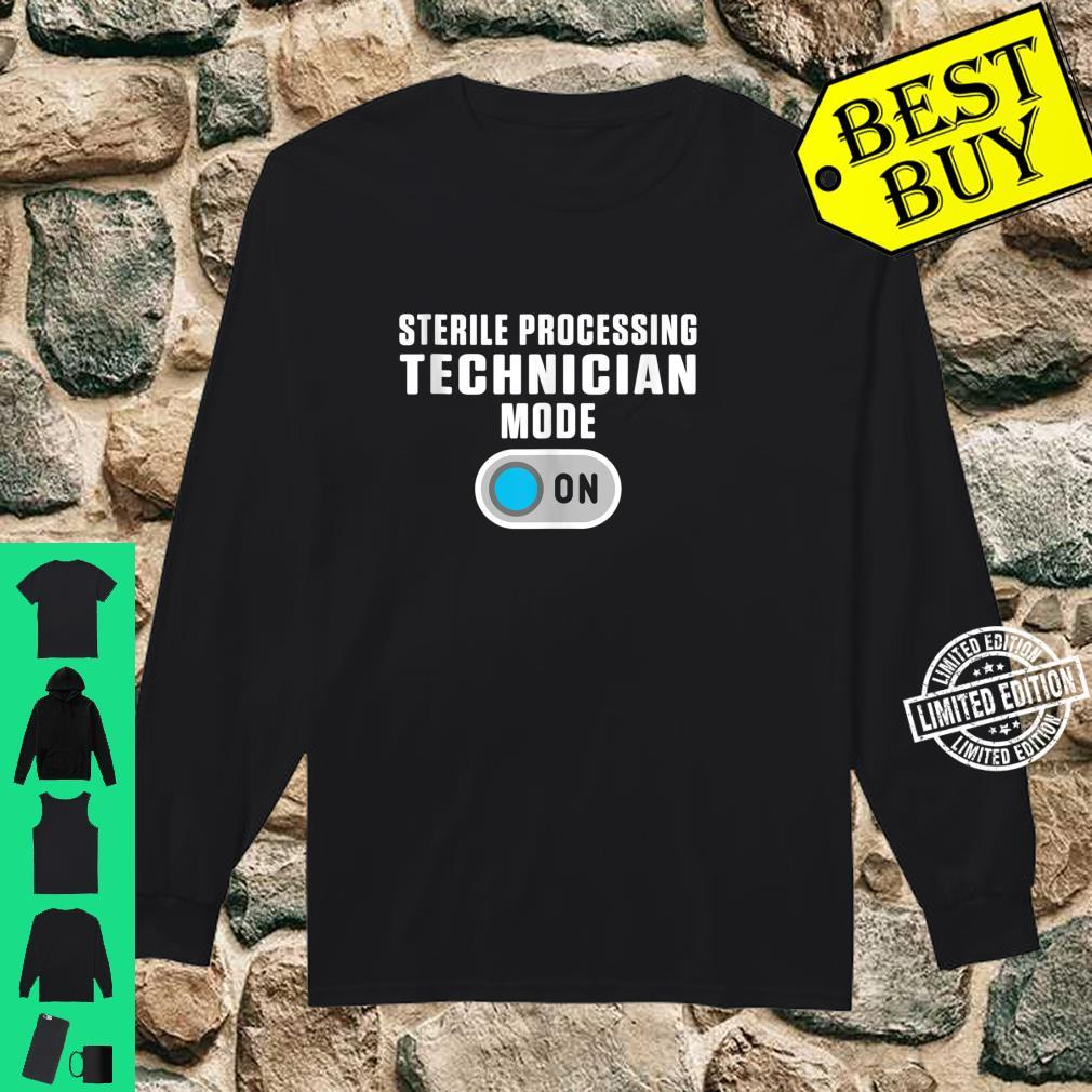 Sterile Processing Technician Instructing Tech Shirt long sleeved