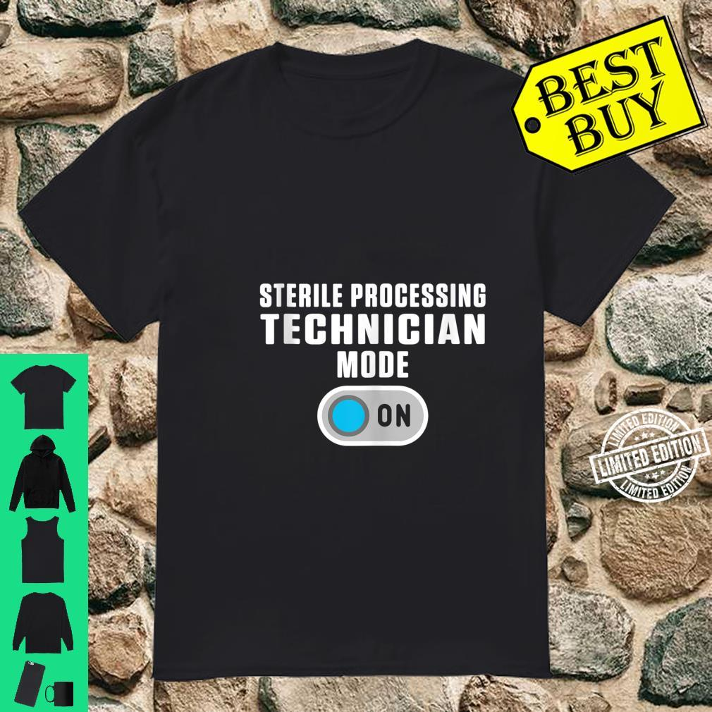 Sterile Processing Technician Instructing Tech Shirt