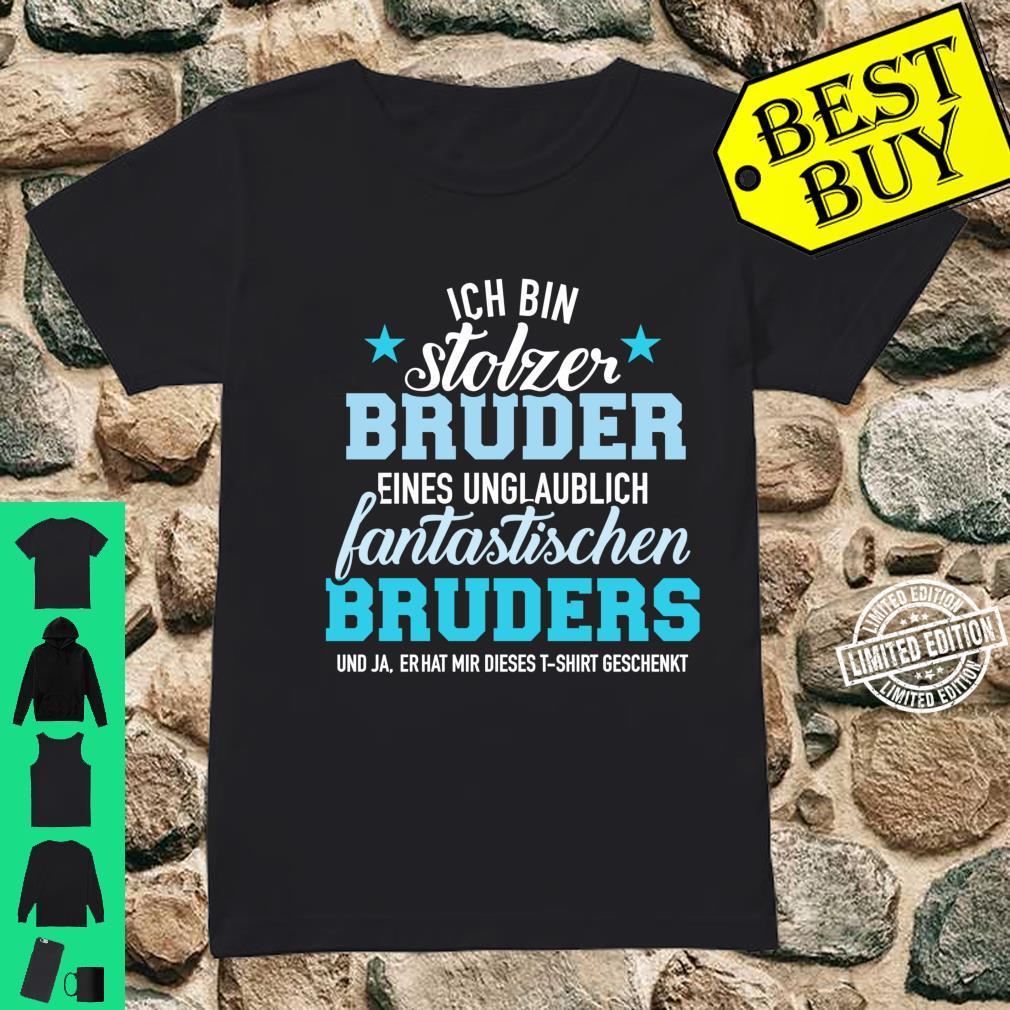 Stolzer Bruder eines unglaublich fantastischen Bruders Langarmshirt Shirt ladies tee