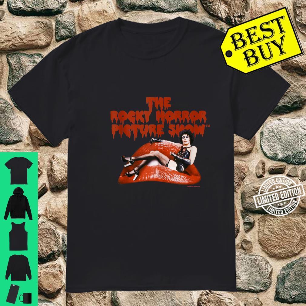 The Rocky Horror Picture Show Dr. FrankNFurter Logo Shirt
