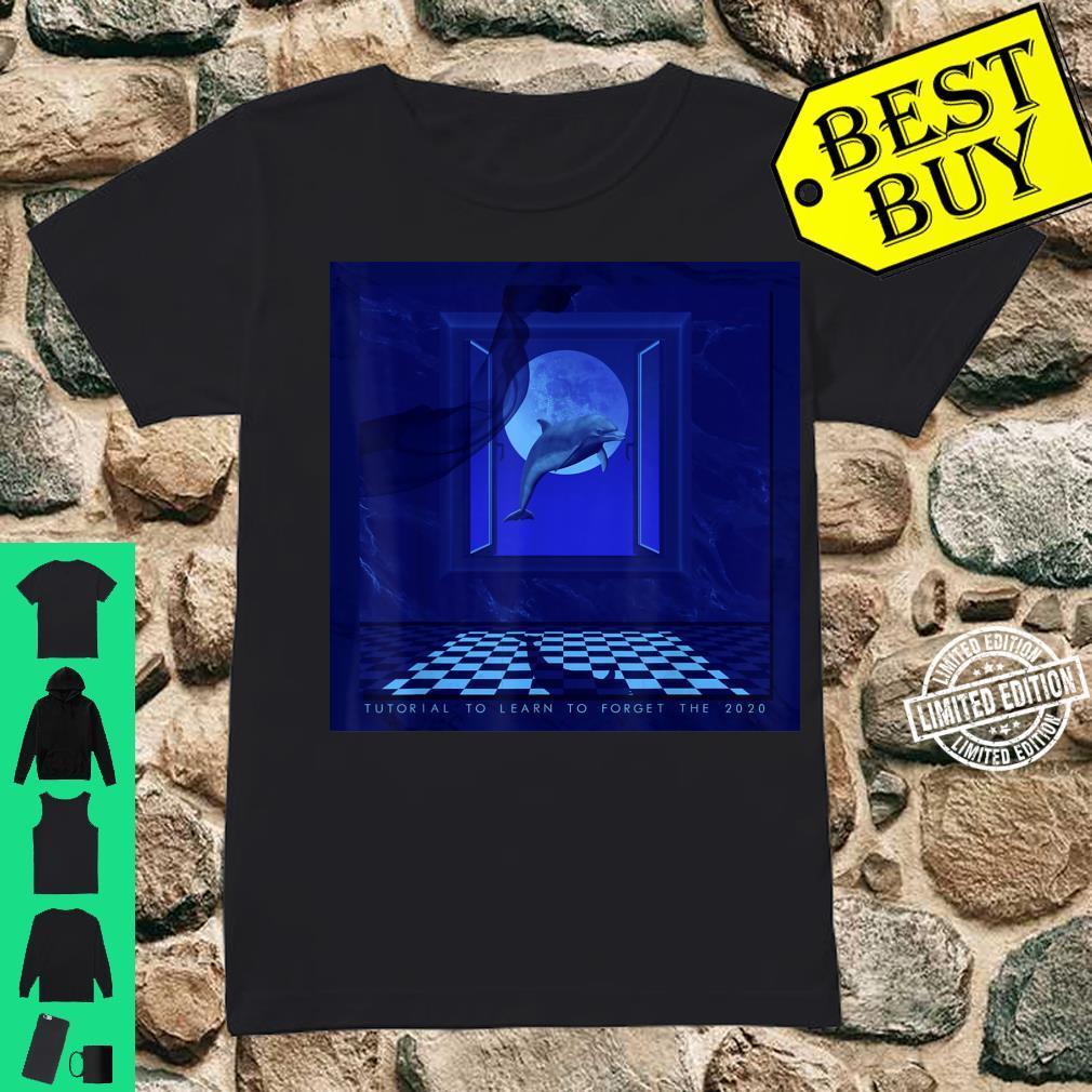 Vaporwave Aesthetic Synthwave Retrowave Seapunk Shirt ladies tee