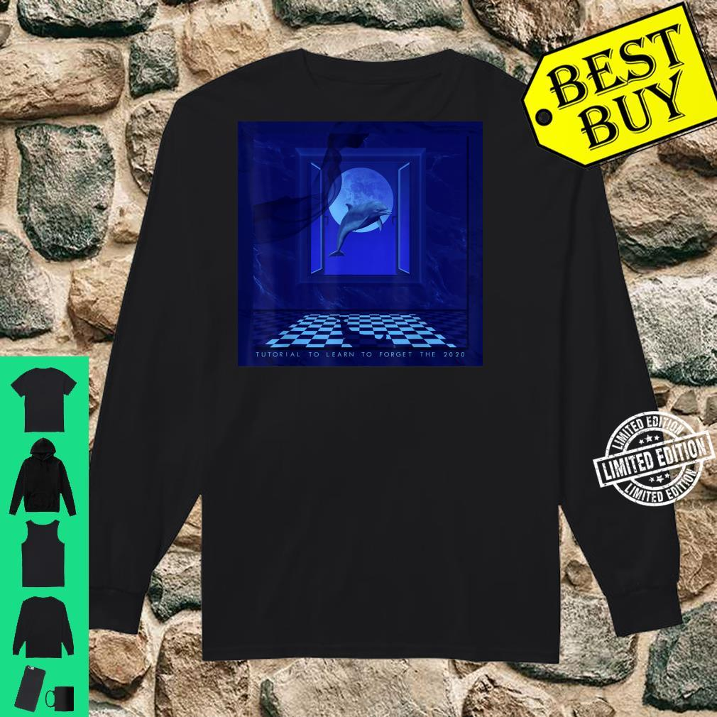Vaporwave Aesthetic Synthwave Retrowave Seapunk Shirt long sleeved