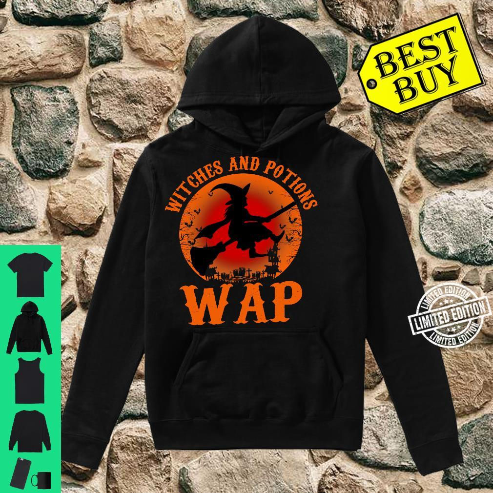 WAP Witches And Potions Retro Halloween Witch Party Costume Shirt hoodie