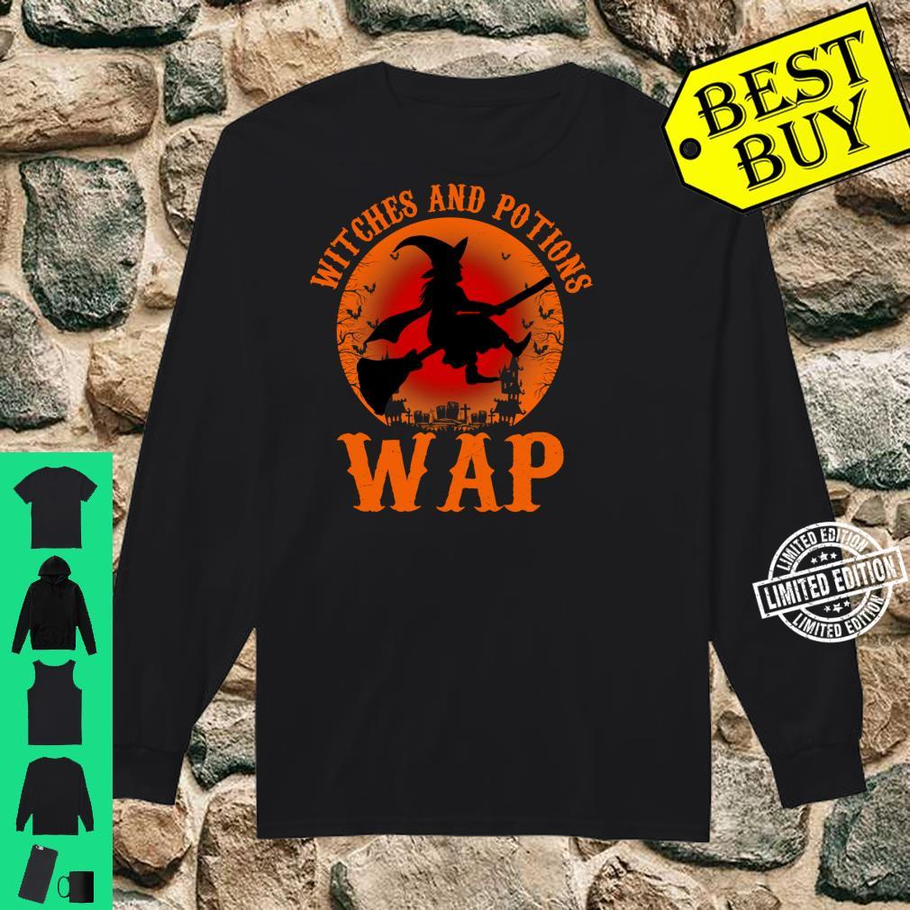 WAP Witches And Potions Retro Halloween Witch Party Costume Shirt long sleeved