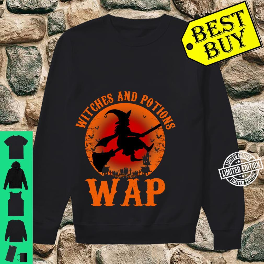 WAP Witches And Potions Retro Halloween Witch Party Costume Shirt sweater