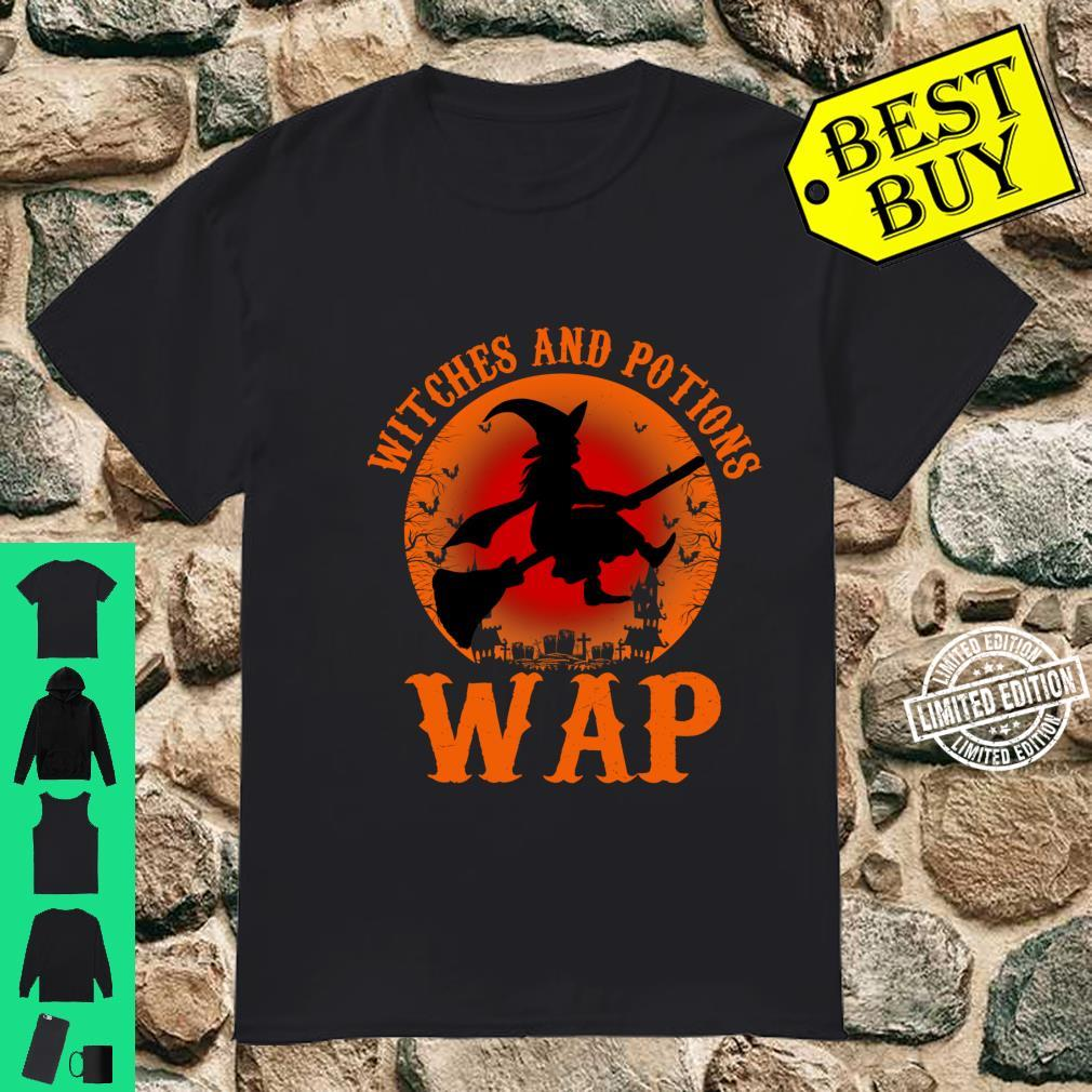 WAP Witches And Potions Retro Halloween Witch Party Costume Shirt