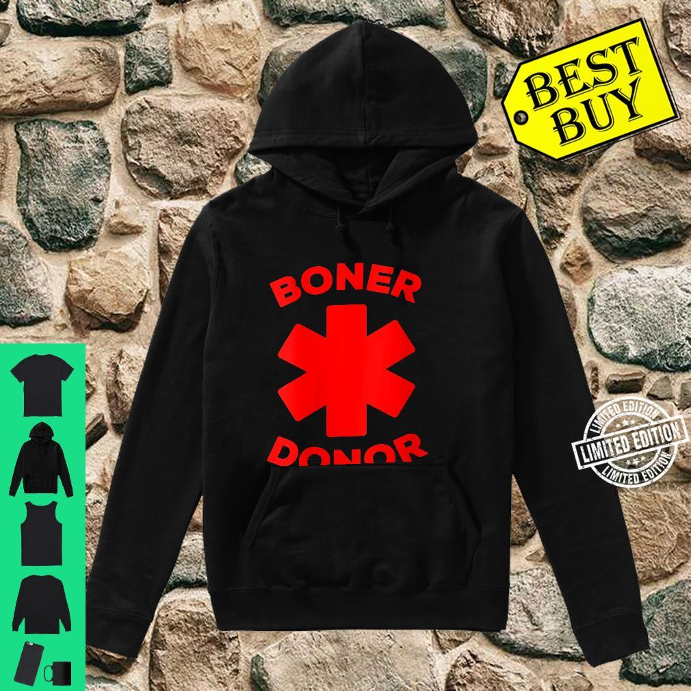 Womens Boner Donor Halloween Costume Shirt hoodie