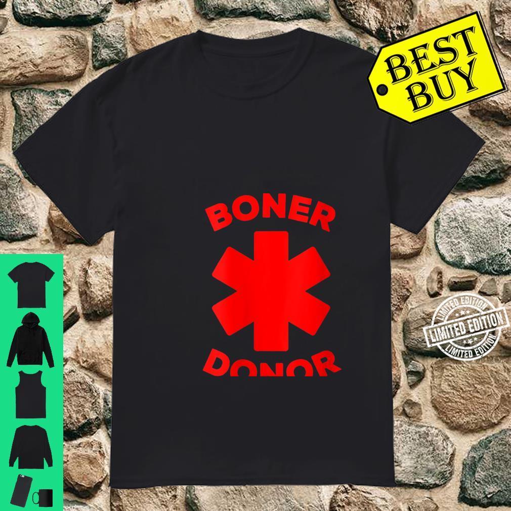 Womens Boner Donor Halloween Costume Shirt